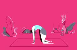 Huffington Post – Yoga GIFs by Wonderlust