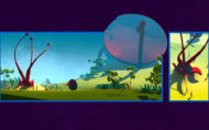 The Secret is a free project artist Leo Dziallas created by merging some of his weirdest ideas into a wondrous animated painting. ASF - Animated Short films.net - Find the best 2D, 3D or stopmotion animated short films