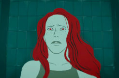 ASF. Laure must replace a deceased swimmer in the relay swim team. ASF - Animated Short Films.net - 2D, 3D and stopmotion animation short films.