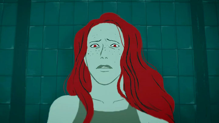 Laure must replace a deceased swimmer in the relay swim team. ASF - Animated Short Films.net - 2D, 3D and stopmotion animation short films.