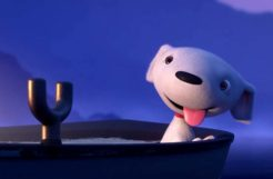 ASF - 3D Animated Short Film about a dog with his owner fishing