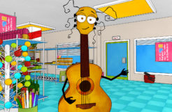 Sounzee Cartoon – The Rock Star