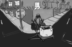 The Trash Guy -Animatic